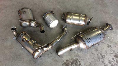 Topcats katalysatoren en roetfilters voor personenauto's